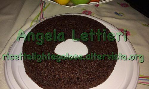Ciambella light al cioccolato