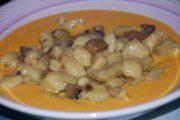 Gnocchi con funghi su crema di zucca di Eleonora Q Mercury