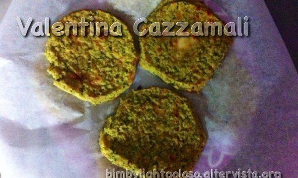 Burger di ceci e zucchine di Barbara Rota