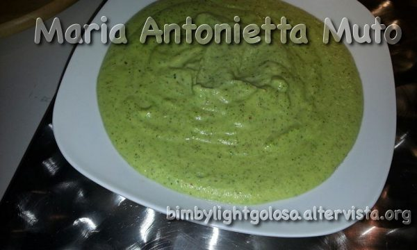 Pesto di zucchine cotto