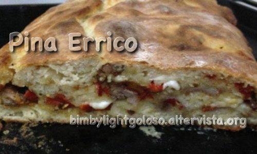 Rotolo di pizza farcito (salsiccia, peperoni e provola) di Pina Errico