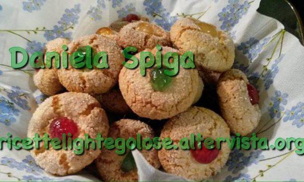 Biscotti in pasta di mandorle di Daniela Spiga