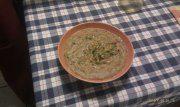 Minestra di riso con fagioli e porcini