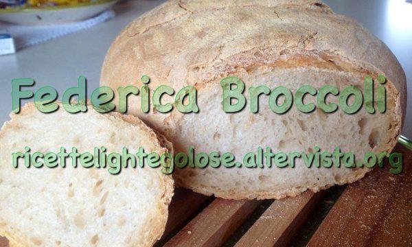 Pane leggero con lievito madre