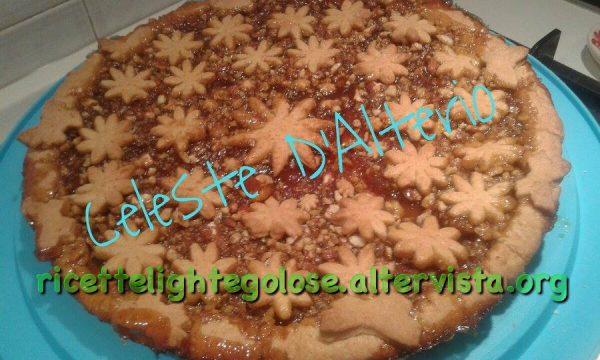 Crostata con marmellata di arance e granella di noci e mandorle di Celeste D'Alterio