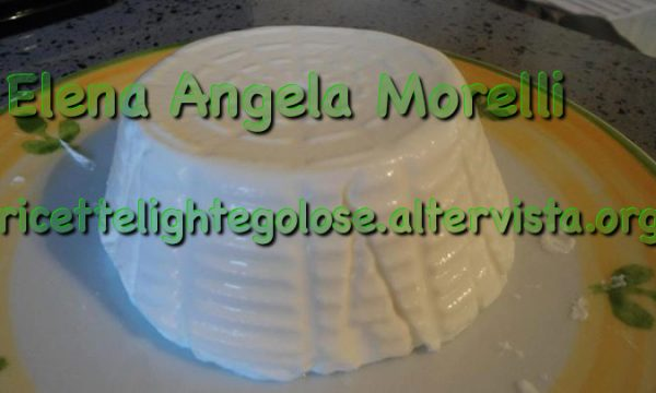 Formaggio fresco allo yogurt