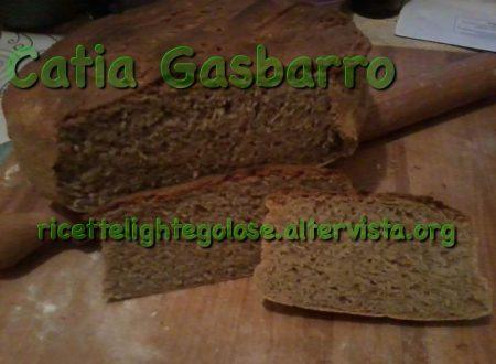 Pane semi integrale con avena e lievito madre