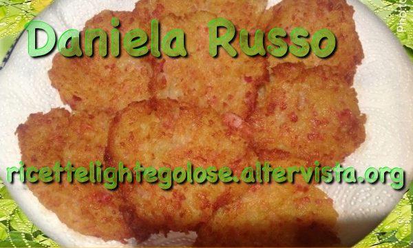 Schiacciatine di patate e prosciutto cotto