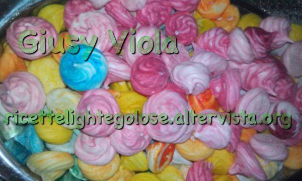 Meringhe colorate