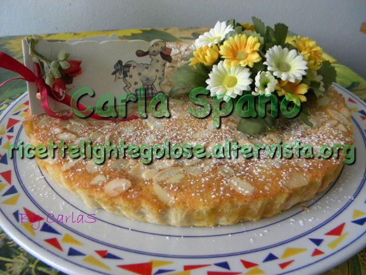 Bakewell tart – frangipane