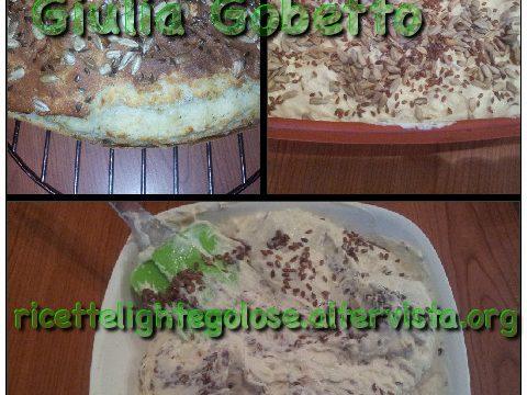 Pane di Giulia senza lievito e lievitazione