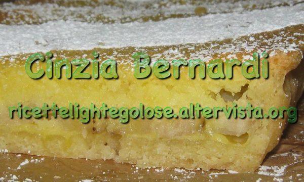 Crostata banane e cocco