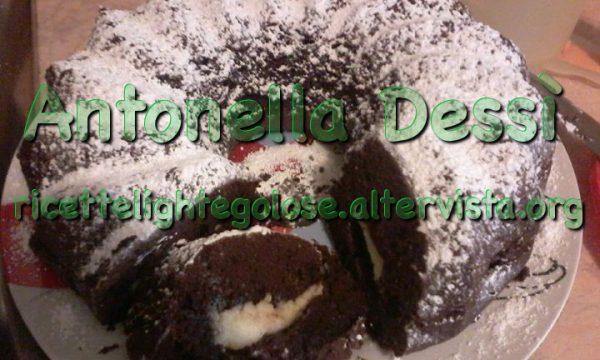 Ciambella al cacao con cuore di mascarpone