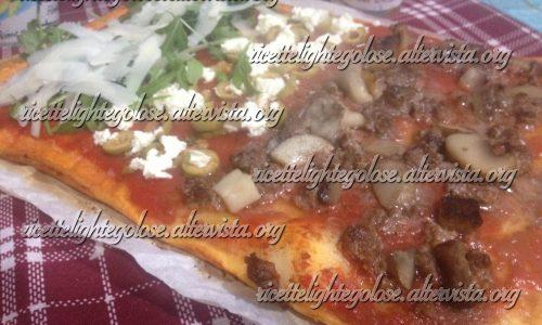 Pizza croccante ad alta digeribilità