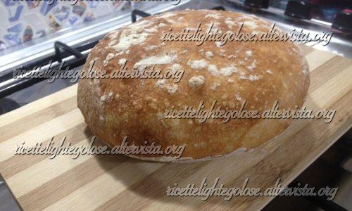Pane con lievitazione a bagno d'acqua