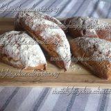 Triangoli di pane integrale