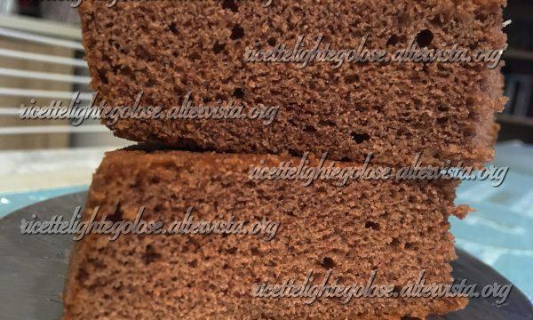 Pan di spagna al cacao – Base per torte kinder